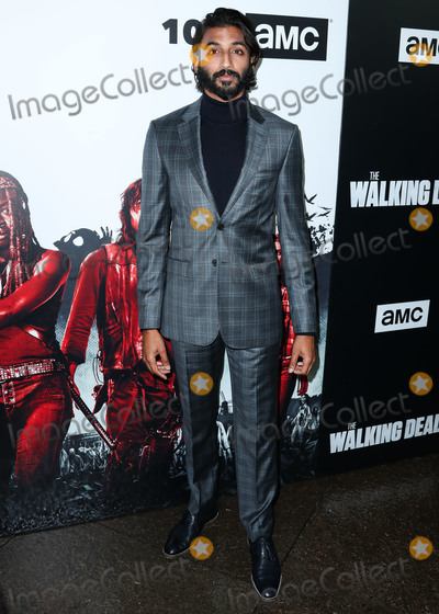 Avi Nash Photo - LOS ANGELES CA USA - SEPTEMBER 27 Avi Nash at the Los Angeles Premiere Of AMCs The Walking Dead Season 9 held at the Directors Guild of America Theater Complex on September 27 2018 in Los Angeles California United States (Photo by Xavier CollinImage Press Agency)