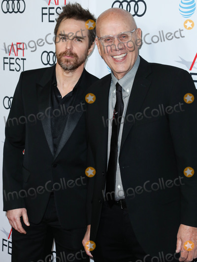 Sam Rockwell Photo - HOLLYWOOD LOS ANGELES CALIFORNIA USA - NOVEMBER 20 Sam Rockwell and G Watson Bryant Jr arrive at the AFI FEST 2019 - Premiere Of Warner Bros Pictures Richard Jewell held at the TCL Chinese Theatre IMAX on November 20 2019 in Hollywood Los Angeles California United States (Photo by Xavier CollinImage Press Agency)