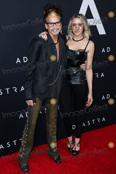 Steven Tyler Photo - HOLLYWOOD LOS ANGELES CALIFORNIA USA - SEPTEMBER 18 Steven Tyler and Aimee Preston arrive at the Los Angeles Premiere Of 20th Century Foxs Ad Astra held at ArcLight Cinemas Hollywood Cinerama Dome on August 18 2019 in Hollywood Los Angeles California United States (Photo by Xavier CollinImage Press Agency)
