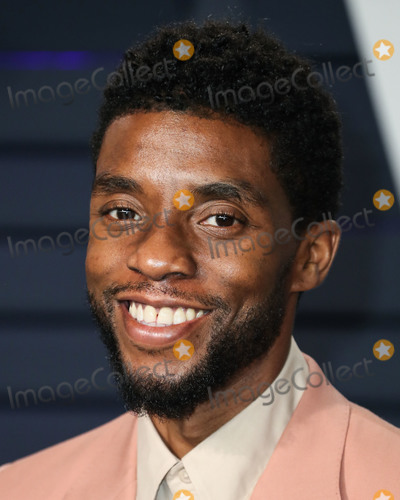 Wallis Annenberg Photo - (FILE) Chadwick Boseman Dead at 43 After Battle With Colon Cancer BEVERLY HILLS LOS ANGELES CALIFORNIA USA - FEBRUARY 24 Actor Chadwick Boseman arrives at the 2019 Vanity Fair Oscar Party held at the Wallis Annenberg Center for the Performing Arts on February 24 2019 in Beverly Hills Los Angeles California United States (Photo by Xavier CollinImage Press Agency)