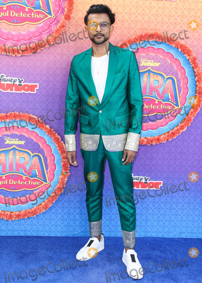 Utkarsh Ambudkar Photo - BURBANK LOS ANGELES CALIFORNIA USA - MARCH 07 Utkarsh Ambudkar arrives at the Los Angeles Premiere Of Disney Juniors Mira Royal Detective held at the Walt Disney Studios Main Theater on March 7 2020 in Burbank Los Angeles California United States (Photo by Xavier CollinImage Press Agency)