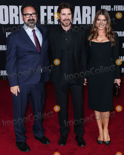 Sibi Blazic Photo - HOLLYWOOD LOS ANGELES CALIFORNIA USA - NOVEMBER 04 James Mangold Christian Bale and Sibi Blazic arrive at the Los Angeles Premiere Of 20th Century Foxs Ford v Ferrari held at the TCL Chinese Theatre IMAX on November 4 2019 in Hollywood Los Angeles California United States (Photo by Xavier CollinImage Press Agency)
