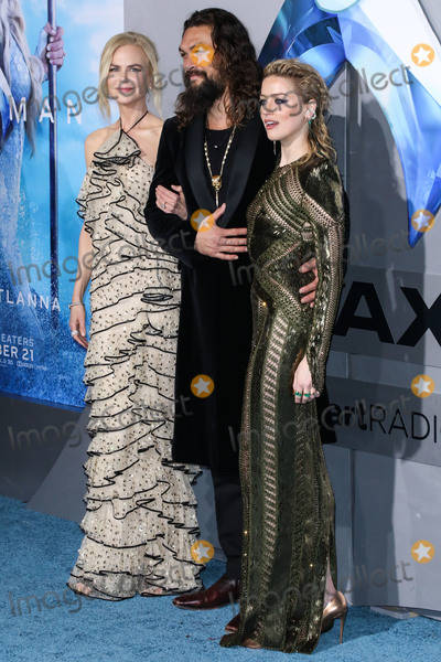 Amber Heard Photo - HOLLYWOOD LOS ANGELES CA USA - DECEMBER 12 Actors Nicole Kidman Jason Momoa and Amber Heard arrive at the Los Angeles Premiere Of Warner Bros Pictures Aquaman held at the TCL Chinese Theatre IMAX on December 12 2018 in Hollywood Los Angeles California United States (Photo by David AcostaImage Press Agency)