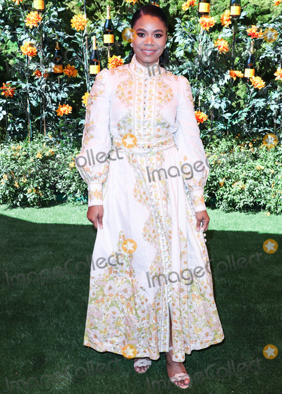 Will Rogers Photo - PACIFIC PALISADES LOS ANGELES CALIFORNIA USA - OCTOBER 05 Actress Regina Hall wearing a Zimmermann dress arrives at the 10th Annual Veuve Clicquot Polo Classic Los Angeles held at Will Rogers State Historic Park on October 5 2019 in Pacific Palisades Los Angeles California United States (Photo by Xavier CollinImage Press Agency)