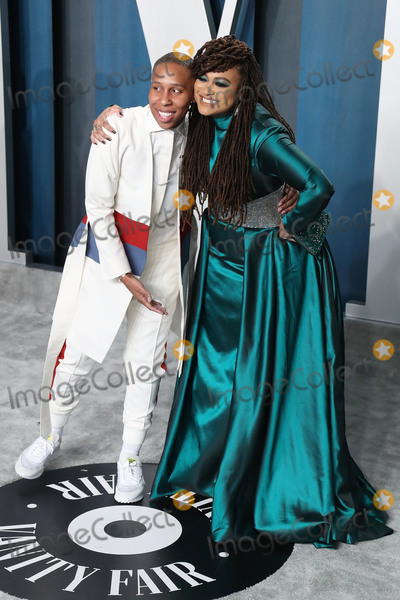 Hsker D Photo - BEVERLY HILLS LOS ANGELES CALIFORNIA USA - FEBRUARY 09 Lena Waithe and Ava DuVernay arrive at the 2020 Vanity Fair Oscar Party held at the Wallis Annenberg Center for the Performing Arts on February 9 2020 in Beverly Hills Los Angeles California United States (Photo by Xavier CollinImage Press Agency)