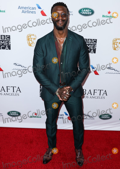 Aldis Hodges Photo - BEVERLY HILLS LOS ANGELES CALIFORNIA USA - SEPTEMBER 21 Aldis Hodge arrives at the BAFTA Los Angeles  BBC America TV Tea Party 2019 held at The Beverly Hilton Hotel on September 21 2019 in Beverly Hills Los Angeles California United States (Photo by Xavier CollinImage Press Agency)