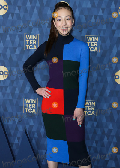Aubrey Anderson-Emmons Photo - PASADENA LOS ANGELES CALIFORNIA USA - JANUARY 08 Actress Aubrey Anderson-Emmons arrives at ABC Televisions TCA Winter Press Tour 2020 held at The Langham Huntington Hotel on January 8 2020 in Pasadena Los Angeles California United States (Photo by Xavier CollinImage Press Agency)