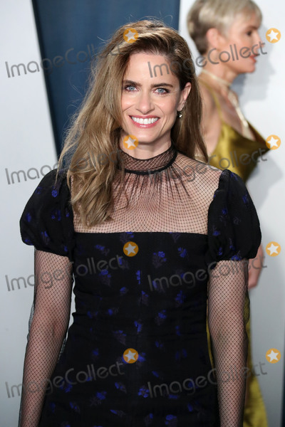 Amanda Peet Photo - BEVERLY HILLS LOS ANGELES CALIFORNIA USA - FEBRUARY 09 Amanda Peet arrives at the 2020 Vanity Fair Oscar Party held at the Wallis Annenberg Center for the Performing Arts on February 9 2020 in Beverly Hills Los Angeles California United States (Photo by Xavier CollinImage Press Agency)