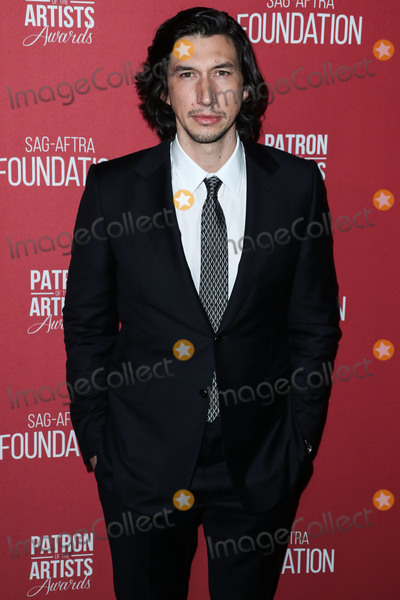 Adam Driver Photo - BEVERLY HILLS LOS ANGELES CA USA - NOVEMBER 08 Adam Driver at the SAG-AFTRA Foundations 3rd Annual Patron Of The Artists Awards held at the Wallis Annenberg Center for the Performing Arts on November 8 2018 in Beverly Hills Los Angeles California United States (Photo by Xavier CollinImage Press Agency)