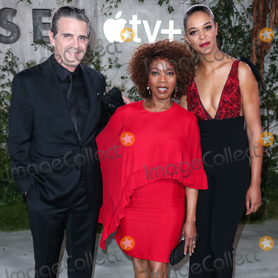 Alfre Woodard Photo - WESTWOOD LOS ANGELES CALIFORNIA USA - OCTOBER 21 Roderick Spencer Alfre Woodard and Mavis Spencer arrive at the World Premiere Of Apple TVs See held at the Fox Village Theater on October 21 2019 in Westwood Los Angeles California United States (Photo by Xavier CollinImage Press Agency)