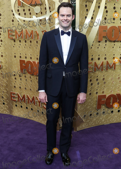 Bill Hader Photo - LOS ANGELES CALIFORNIA USA - SEPTEMBER 22 Bill Hader arrives at the 71st Annual Primetime Emmy Awards held at Microsoft Theater LA Live on September 22 2019 in Los Angeles California United States (Photo by Xavier CollinImage Press Agency)