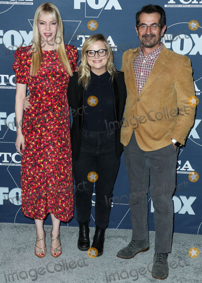 Amy Poehler Photo - PASADENA LOS ANGELES CALIFORNIA USA - JANUARY 07 Amy Poehler Ty Burrell and Riki Lindhome arrive at the FOX Winter TCA 2020 All-Star Party held at The Langham Huntington Hotel on January 7 2020 in Pasadena Los Angeles California United States (Photo by Xavier CollinImage Press Agency)