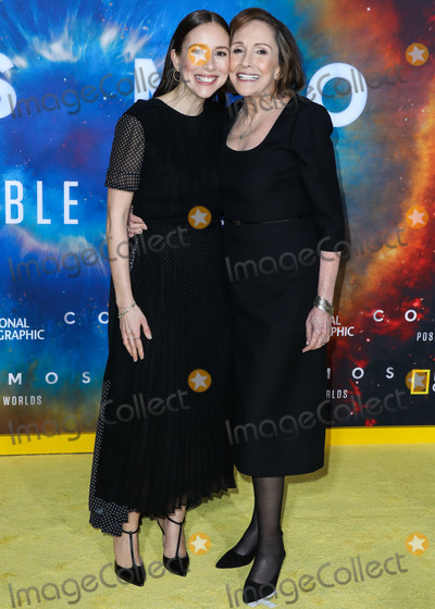 Ann Druyan Photo - WESTWOOD LOS ANGELES CALIFORNIA USA - FEBRUARY 26 Producer Sasha Sagan and motherwriter Ann Druyan arrive at the Los Angeles Premiere Of National Geographics Cosmos Possible Worlds held at Royce Hall at the University of California Los Angeles (UCLA) on February 26 2020 in Westwood Los Angeles California United States (Photo by Xavier CollinImage Press Agency)