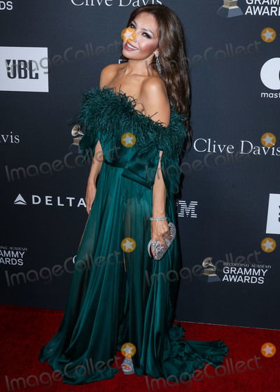 Ariadna Thalia Sodi Miranda Photo - BEVERLY HILLS LOS ANGELES CA USA - FEBRUARY 09 Singer Thalia (Ariadna Thalia Sodi Miranda) arrives at The Recording Academy And Clive Davis 2019 Pre-GRAMMY Gala held at The Beverly Hilton Hotel on February 9 2019 in Beverly Hills Los Angeles California United States (Photo by Xavier CollinImage Press Agency)