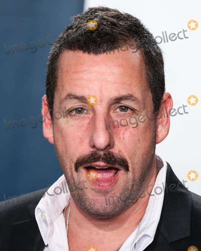Adam Sandler Photo - BEVERLY HILLS LOS ANGELES CALIFORNIA USA - FEBRUARY 09 Adam Sandler arrives at the 2020 Vanity Fair Oscar Party held at the Wallis Annenberg Center for the Performing Arts on February 9 2020 in Beverly Hills Los Angeles California United States (Photo by Xavier CollinImage Press Agency)