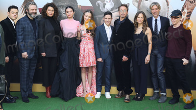 Selena Gomez Photo - WESTWOOD LOS ANGELES CALIFORNIA USA - JANUARY 11 Rami Malek Michael Sheen Donna Langley Selena Gomez Carmel Laniado Harry Collett Robert Downey Jr Susan Downey Stephen Gaghan and Danny Elfman arrive at the Los Angeles Premiere Of Universal Pictures Dolittle held at the Regency Village Theatre on January 11 2020 in Westwood Los Angeles California United States (Photo by Xavier CollinImage Press Agency)