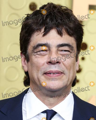 Benicio Del Toro Photo - LOS ANGELES CALIFORNIA USA - SEPTEMBER 22 Benicio del Toro arrives at the 71st Annual Primetime Emmy Awards held at Microsoft Theater LA Live on September 22 2019 in Los Angeles California United States (Photo by Xavier CollinImage Press Agency)