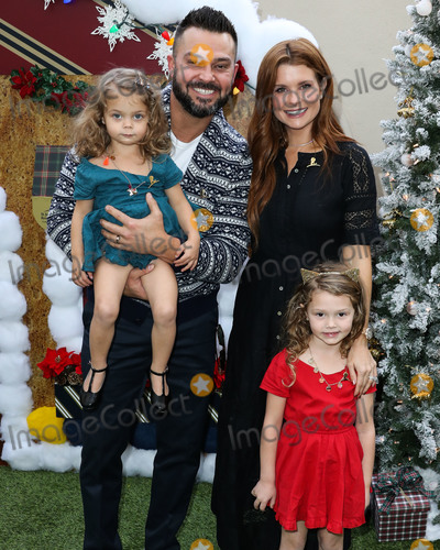 Four Seasons Photo - BEVERLY HILLS LOS ANGELES CA USA - DECEMBER 09 Sailor Stevie Swisher Nick Swisher Emerson Jay Swisher and JoAnna Garcia Swisher arrive at the Brooks Brothers Annual Holiday Celebration In Los Angeles To Benefit St Jude 2018 held at the Beverly Wilshire Four Seasons Hotel on December 9 2018 in Beverly Hills Los Angeles California United States (Photo by Xavier CollinImage Press Agency)