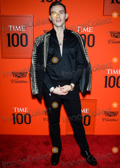 Adam Rippon Photo - MANHATTAN NEW YORK CITY NEW YORK USA - APRIL 23 Adam Rippon arrives at the 2019 Time 100 Gala held at the Frederick P Rose Hall at Jazz At Lincoln Center on April 23 2019 in Manhattan New York City New York United States (Photo by Image Press Agency)