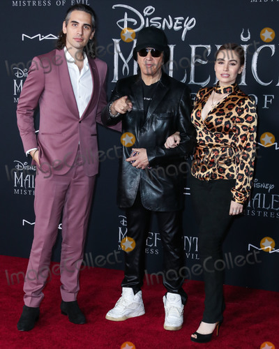 Nick Simmons Photo - HOLLYWOOD LOS ANGELES CALIFORNIA USA - SEPTEMBER 30 Nick Simmons Gene Simmons and Sophie Simmons arrive at the World Premiere Of Disneys Maleficent Mistress Of Evil held at the El Capitan Theatre on September 30 2019 in Hollywood Los Angeles California United States (Photo by Xavier CollinImage Press Agency)