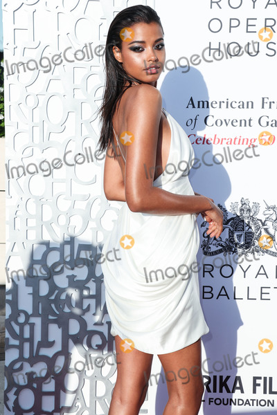 Covent Garden Photo - BEVERLY HILLS LOS ANGELES CALIFORNIA USA - JULY 10 Actress Ella Balinska wearing Balmain arrives at the American Friends Of Covent Garden 50th Anniversary Celebration held at Jean-Georges Beverly Hills at Waldorf Astoria Beverly Hills on July 10 2019 in Beverly Hills Los Angeles California United States (Photo by Xavier CollinImage Press Agency)