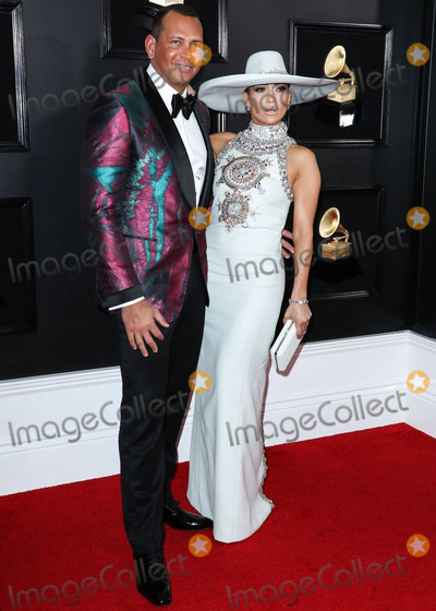 Grammy Awards Photo - (FILE) Jennifer Lopez and Alex Rodriguez Retain JPMorgan to Raise Money for Mets Bid Retired baseball star Alex Rodriguez and his fiance recording artist and actor Jennifer Lopez have retained JPMorgan Chase to raise capital for a possible bid on the New York Mets people familiar with the matter said LOS ANGELES CALIFORNIA USA - FEBRUARY 10 American retired Baseball shortstop Alexander Rodriguez and girlfriendsingeractress Jennifer Lopez (wearing a Ralph and Russo dress Niwaka jewels Jimmy Choo shoes and Judith Lieber clutch) arrive at the 61st Annual GRAMMY Awards held at Staples Center on February 10 2019 in Los Angeles California United States (Photo by Xavier CollinImage Press Agency)