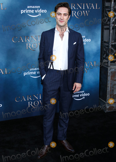 Arty Froushan Photo - HOLLYWOOD LOS ANGELES CALIFORNIA USA - AUGUST 21 Actor Arty Froushan arrives at the Los Angeles Premiere Of Amazons Carnival Row held at the TCL Chinese Theatre IMAX on August 21 2019 in Hollywood Los Angeles California United States (Photo by Xavier CollinImage Press Agency)