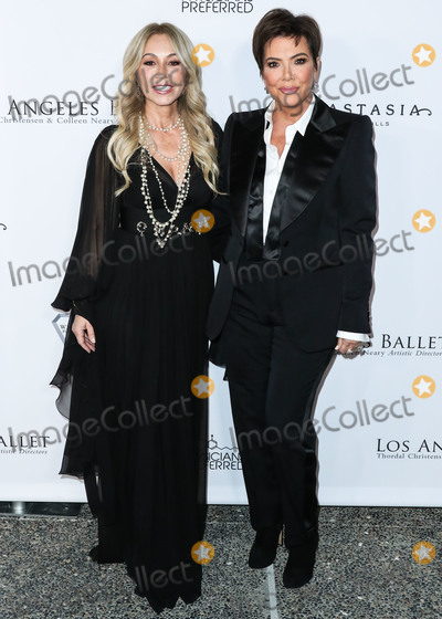 Anastasia Photo - SANTA MONICA LOS ANGELES CALIFORNIA USA - FEBRUARY 28 Businesswoman Anastasia Soare and television personality Kris Jenner arrive at the Los Angeles Ballet Gala 2020 held at The Eli and Edythe Broad Stage at the Santa Monica College Performing Arts Center on February 28 2020 in Santa Monica Los Angeles California United States (Photo by Xavier CollinImage Press Agency)