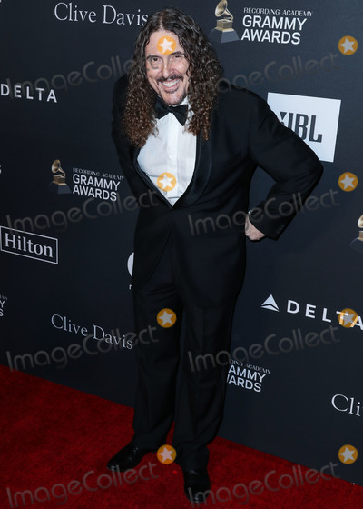 Al Yankovic Photo - BEVERLY HILLS LOS ANGELES CA USA - FEBRUARY 09 Singer Weird Al Yankovic arrives at The Recording Academy And Clive Davis 2019 Pre-GRAMMY Gala held at The Beverly Hilton Hotel on February 9 2019 in Beverly Hills Los Angeles California United States (Photo by Xavier CollinImage Press Agency)