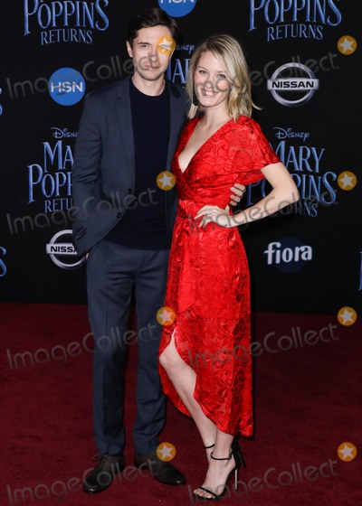 Ashley Hinshaw Photo - HOLLYWOOD LOS ANGELES CA USA - NOVEMBER 29 Topher Grace Ashley Hinshaw arrive at the World Premiere Of Disneys Mary Poppins Returns held at the El Capitan Theatre on November 29 2018 in Hollywood Los Angeles California United States (Photo by David AcostaImage Press Agency)