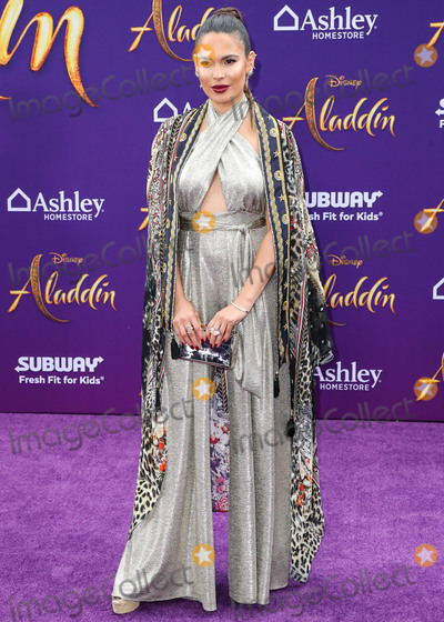 Nadine Velazquez Photo - HOLLYWOOD LOS ANGELES CALIFORNIA USA - MAY 21 Actress Nadine Velazquez arrives at the World Premiere Of Disneys Aladdin held at the El Capitan Theatre on May 21 2019 in Hollywood Los Angeles California United States (Photo by Xavier CollinImage Press Agency)