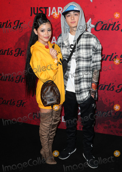 Asher Angel Photo - HOLLYWOOD LOS ANGELES CA USA - OCTOBER 27 Jenna Ortega Asher Angel at Just Jareds 7th Annual Halloween Party held at Goya Studios on October 27 2018 in Hollywood Los Angeles California United States (Photo by Xavier CollinImage Press Agency)