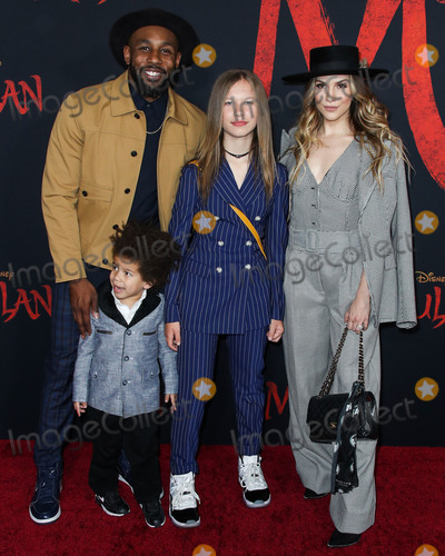 Allison Holker Photo - HOLLYWOOD LOS ANGELES CALIFORNIA USA - MARCH 09 Stephen Boss (tWitch) Maddox Laurel Boss Weslie Fowler and Allison Holker arrive at the World Premiere Of Disneys Mulan held at the El Capitan Theatre and Dolby Theatre on March 9 2020 in Hollywood Los Angeles California United States (Photo by Xavier CollinImage Press Agency)