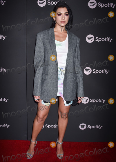 Calvin Klein Photo - LOS ANGELES CA USA - FEBRUARY 07 Singer Dua Lipa wearing Calvin Klein arrives at the Spotify Best New Artist Party 2019 held at the Hammer Museum on February 7 2019 in Los Angeles California United States (Photo by Image Press Agency)