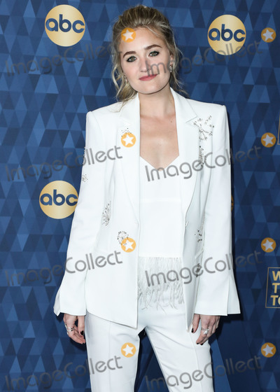 AJ Michalka Photo - PASADENA LOS ANGELES CALIFORNIA USA - JANUARY 08 Actress AJ Michalka arrives at ABC Televisions TCA Winter Press Tour 2020 held at The Langham Huntington Hotel on January 8 2020 in Pasadena Los Angeles California United States (Photo by Xavier CollinImage Press Agency)