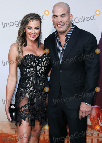 Tito Ortiz Photo - WESTWOOD LOS ANGELES CALIFORNIA USA - AUGUST 20 Actress Amber Nichole Miller and boyfriendAmerican mixed martial artist Tito Ortiz arrive at the Los Angeles Premiere Of Lionsgates Angel Has Fallen held at the Regency Village Theatre on August 20 2019 in Westwood Los Angeles California United States (Photo by Xavier CollinImage Press Agency)