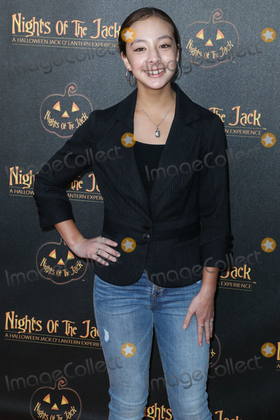 Aubrey Anderson Photo - CALABASAS LOS ANGELES CALIFORNIA USA - OCTOBER 02 Aubrey Anderson-Emmons arrives at Nights of the Jack Friends and Family Night 2019 held at King Gillette Ranch on October 2 2019 in Calabasas Los Angeles California United States (Photo by Xavier CollinImage Press Agency)