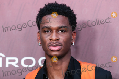 Shay Photo - HOLLYWOOD LOS ANGELES CALIFORNIA USA - JULY 18 Canadian basketball player Shai Gilgeous-Alexander arrives at the Sports Illustrated Fashionable 50 held at Sunset Room Hollywood on July 18 2019 in Hollywood Los Angeles California United States (Photo by Xavier CollinImage Press Agency)