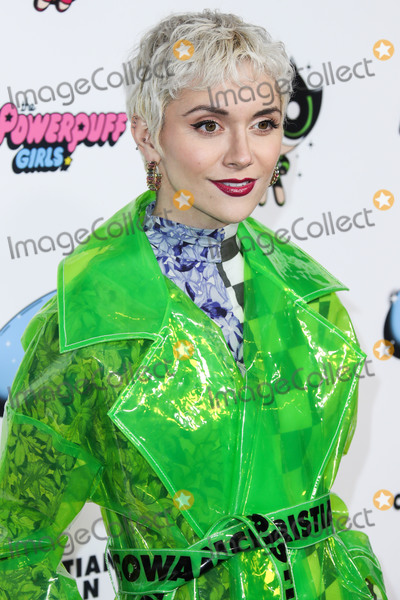 Alyson Stoner Photo - HOLLYWOOD LOS ANGELES CALIFORNIA USA - MARCH 08 Actress Alyson Stoner wearing ASOS Design x Christian Cowan arrives at the 2020 Christian Cowan x Powerpuff Girls Runway Show Season II held at NeueHouse Los Angeles on March 8 2020 in Hollywood Los Angeles California United States (Photo by Xavier CollinImage Press Agency)