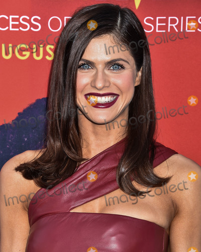 Alexandra Daddario Photo - BEVERLY HILLS LOS ANGELES CALIFORNIA USA - AUGUST 07 Actress Alexandra Daddario wearing Oscar de la Renta arrives at the Los Angeles Premiere Of CBS All Access Why Women Kill held at the Wallis Annenberg Center for the Performing Arts on August 7 2019 in Beverly Hills Los Angeles California United States (Photo by Image Press Agency)