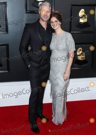 Grammy Awards Photo - (FILE) Lana Del Rey and Sean Sticks Larkin Split After Several Months of Dating Lana Del Reys relationship with police officer Sean Larkin has ended LOS ANGELES CALIFORNIA USA - JANUARY 26 Sean Larkin and girlfriendsinger Lana Del Rey (wearing Aidan Mattox) arrive at the 62nd Annual GRAMMY Awards held at Staples Center on January 26 2020 in Los Angeles California United States (Photo by Xavier CollinImage Press Agency)