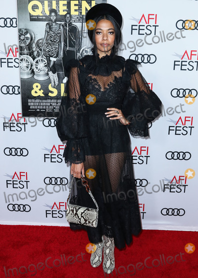Aurora James Photo - HOLLYWOOD LOS ANGELES CALIFORNIA USA - NOVEMBER 14 Aurora James arrives at the AFI FEST 2019 - Opening Night Gala - Premiere Of Universal Pictures Queen And Slim held at the TCL Chinese Theatre IMAX on November 14 2019 in Hollywood Los Angeles California United States (Photo by Xavier CollinImage Press Agency)