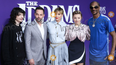 Chloe Grace Moretz Photo - CENTURY CITY LOS ANGELES CALIFORNIA USA - OCTOBER 06 Finn Wolfhard Nick Kroll Charlize Theron Chloe Grace Moretz and Snoop Dogg arrive at the World Premiere Of MGMs The Addams Family held at the Westfield Century City AMC on October 6 2019 in Century City Los Angeles California United States (Photo by Xavier CollinImage Press Agency)
