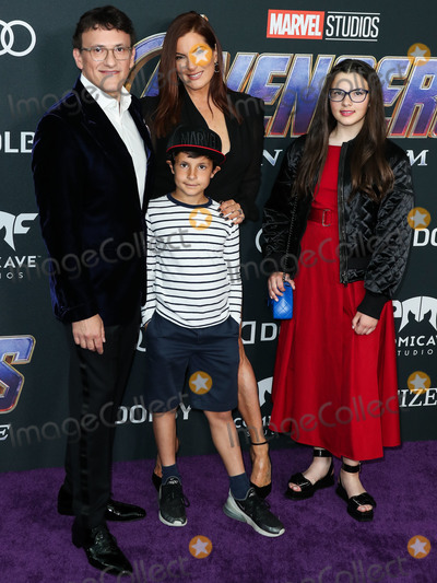 Ann Russo Photo - LOS ANGELES CALIFORNIA USA - APRIL 22 Director Anthony Russo and wife Ann Russo arrive at the World Premiere Of Walt Disney Studios Motion Pictures and Marvel Studios Avengers Endgame held at the Los Angeles Convention Center on April 22 2019 in Los Angeles California United States (Photo by Xavier CollinImage Press Agency)