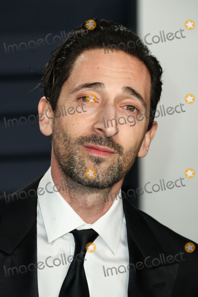Adrien Brody Photo - BEVERLY HILLS LOS ANGELES CA USA - FEBRUARY 24 Adrien Brody arrives at the 2019 Vanity Fair Oscar Party held at the Wallis Annenberg Center for the Performing Arts on February 24 2019 in Beverly Hills Los Angeles California United States (Photo by Xavier CollinImage Press Agency)
