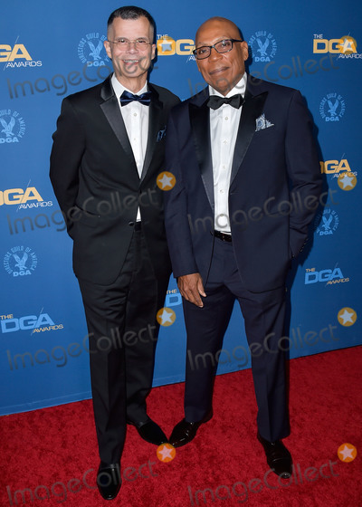 Christophe Honor Photo - LOS ANGELES CALIFORNIA USA - JANUARY 25 Christopher Mason and Paris Barclay arrive at the 72nd Annual Directors Guild Of America Awards held at The Ritz-Carlton Hotel at LA Live on January 25 2020 in Los Angeles California United States (Photo by Image Press Agency)
