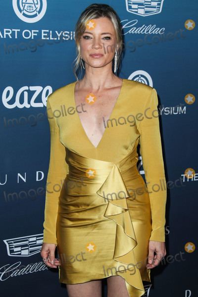 Amy Smart Photo - LOS ANGELES CA USA - JANUARY 05 Actress Amy Smart arrives at The Art Of Elysiums 12th Annual Heaven Gala held at a Private Venue on January 5 2019 in Los Angeles California United States (Photo by Xavier CollinImage Press Agency)