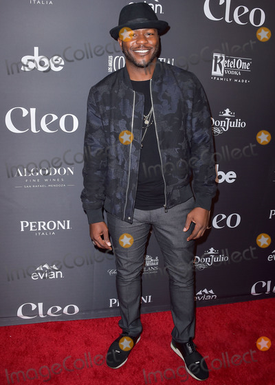 Edwin Hodge Photo - HOLLYWOOD LOS ANGELES CALIFORNIA USA - JUNE 14 Edwin Hodge arrives at the sbe Celebrates The Grand Re-Opening And Debut Of Cleo Hollywood held at Cleo Hollywood on June 14 2019 in Hollywood Los Angeles California United States (Photo by Image Press Agency)