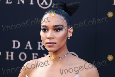 John Rogers Photo - HOLLYWOOD LOS ANGELES CALIFORNIA USA - JUNE 04 Actress Alexandra Shipp wearing a Christopher John Rogers dress Christian Louboutin shoes Rona Pfeiffer jewelry Le Vian stud earrings and Harry Kotlar stud earrings arrives at the Los Angeles Premiere Of 20th Century Foxs Dark Phoenix held at the TCL Chinese Theatre IMAX on June 4 2019 in Hollywood Los Angeles California United States (Photo by Xavier CollinImage Press Agency)