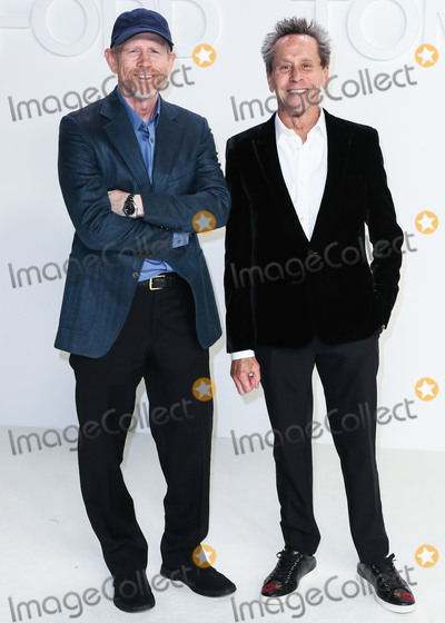 Brian Grazer Photo - HOLLYWOOD LOS ANGELES CALIFORNIA USA - FEBRUARY 07 Ron Howard and Brian Grazer arrive at the Tom Ford AutumnWinter 2020 Fashion Show held at Milk Studios on February 7 2020 in Hollywood Los Angeles California United States (Photo by Xavier CollinImage Press Agency)